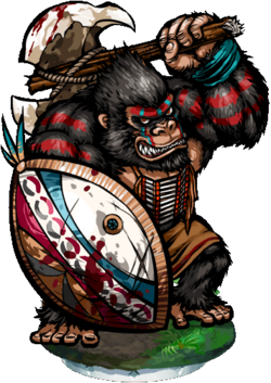 Gorilla Sentinel II Figure