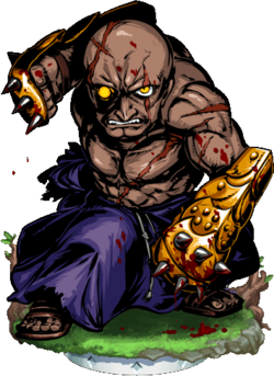War Monk Figure