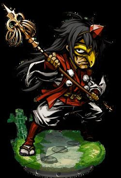 Raven Tengu II Figure