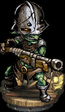 Goblin Gunner Figure