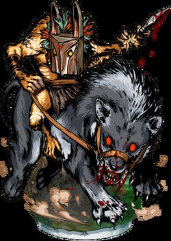 Hyena Rider Figure