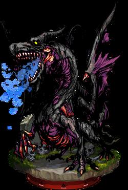 Zombie Dragon III Figure