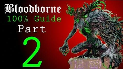 Bloodborne - Walkthrough 2 - Central Yharnam Sewers, Father Gascoigne Boss Battle