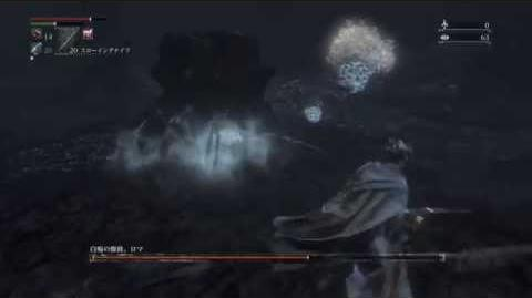 Rom, the Vacuous Spider, version Lower Pthumeru Chalice, solo fight