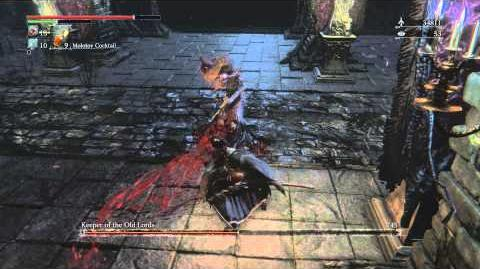 Bloodborne Keeper of the Old Lords Optional Boss Fight 6