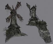 Windmill Bloodborne concept art