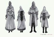 White Church Set Bloodborne Concept Art