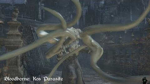 Bloodborne - Kos Parasite (Move Set Showcase)