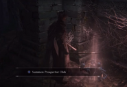 Prospector Olk Bloodborne Summoning Sign