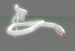 Unused White snake 1