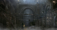Yharnam Sewer concept art