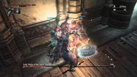 Bloodborne Lady Maria Pizza Hut's Gank Squad