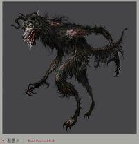 Beast-possessed Soul Concept Art