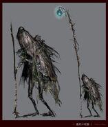 Fishman Mage concept art