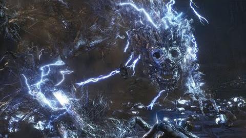 Bloodborne's Darkbeast Boss Gameplay - IGN First