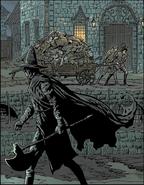HUnter Axe in comic