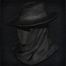 Black Church Hat (female)