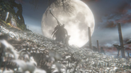 Ending 1 Bloodborne Moon