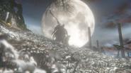 Ending 1 Bloodborne Moon