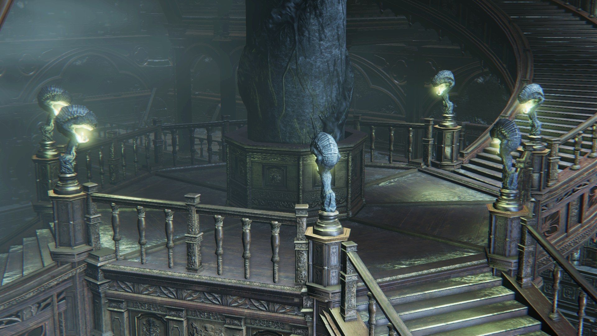 Image result for bloodborne research hall
