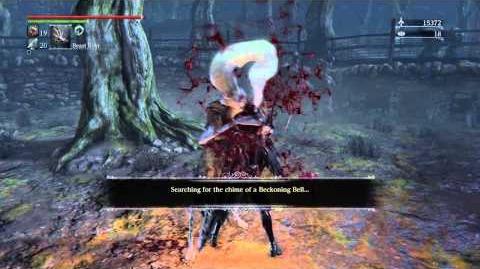 Bloodborne - Escaping a grab
