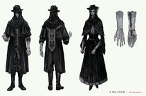 Black Church Set Bloodborne concept art