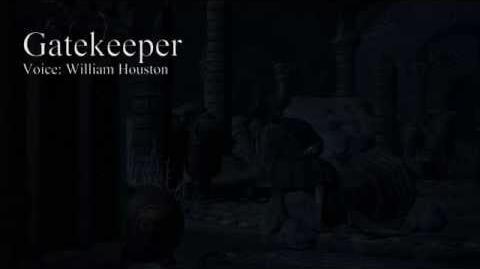 Bloodborne Dialogues - Gatekeeper