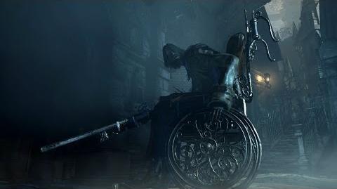 Bloodborne DLC Wheelchair Gunner VISCERAL ATTACK?!