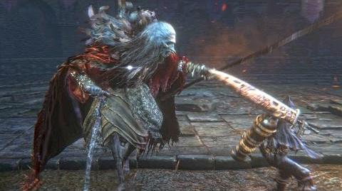 Bloodborne Pthumerian Elder Optional Boss Fight