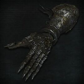 Charred Hunter Gloves
