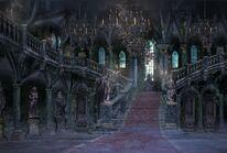 Forsaken Cainhurst Castle concept art 2