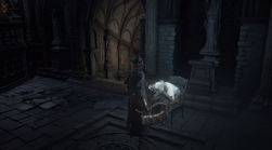 Lonely Old Woman Bloodborne Blood Moon Phase