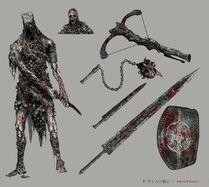 Labyrinth Warrior Concept Art