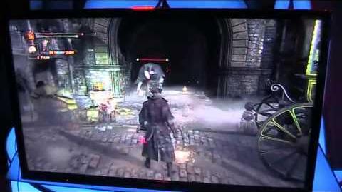 Bloodborne gameplay footage from Gamescom show floor