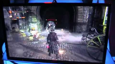 Bloodborne gameplay footage from Gamescom show floor
