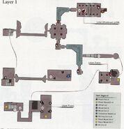 Чаша Нижнего Лорана map1