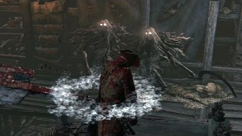 Bloodborne The Witch of Hemwick Boss Fight