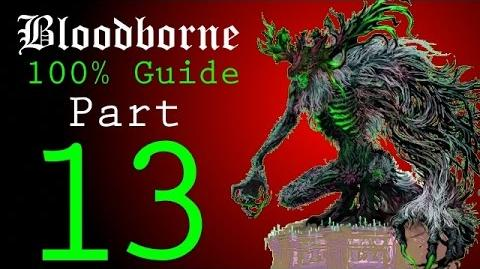 Bloodborne - Walkthrough 13 - Nightmare of Mensis to Micolash, Host of the Nightmare