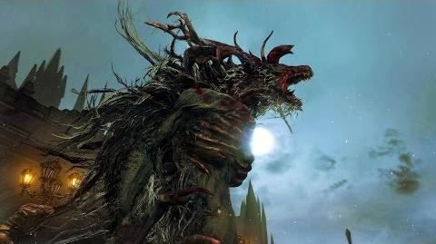 Bloodborne Cleric Beast Boss Fight 1