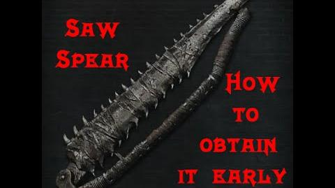 Bloodborne -Saw Spear how to obtain early