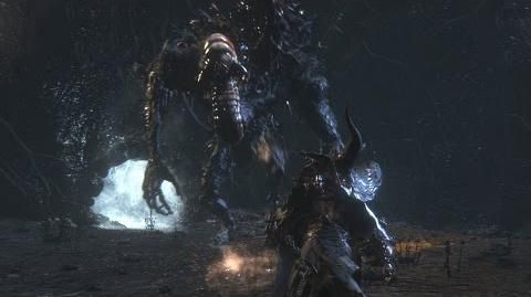 Bloodborne Bloodletting Beast (Worm Head) Optional Boss Fight