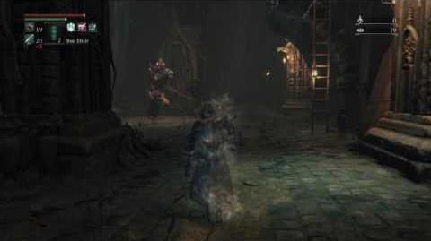 Bloodborne Beast Possessed Soul vs. Undead Giant (cannon variation) - ROUND 2-0