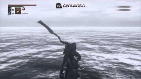 Saw Cleaver - Bloodborne Weapon Showcase