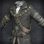 Парадный костюм старого охотника - табл