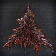 Fire Triangle Blood Gem 6