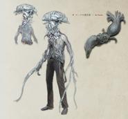 Kos Parasite Concept Art