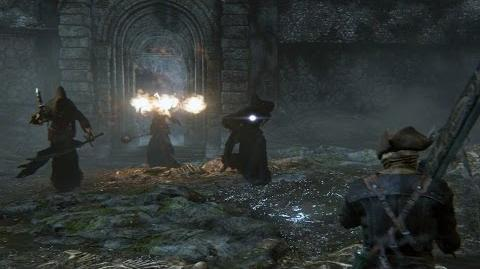 Bloodborne Shadow of Yharnam Boss Fight
