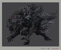 Abhorrent Beast Concept Art