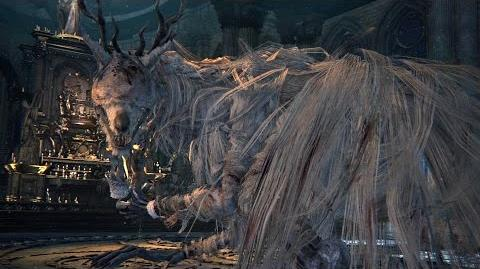 Bloodborne Vicar Amelia Boss Fight