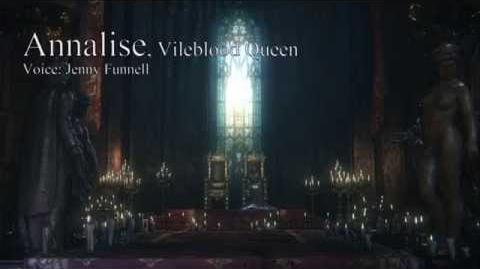 Bloodborne Dialogues - Annalise, Vileblood Queen (Ring of Betrothal dialogues)